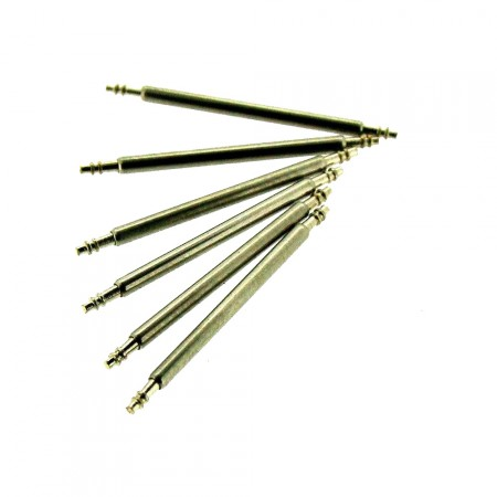 22mm-30mm Spring Bar 1.8mm Stainless Steel Watch Pins 6 Pack