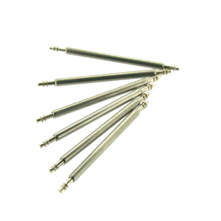 6 x 1.5mm Stainless Steel Watch Pins 9mm-29mm