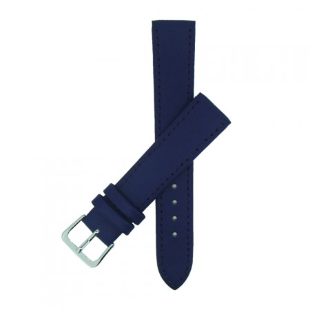 Purple TA Extra Long Leather Watch Strap 10mm to 22mm With FREE Fitting Pins