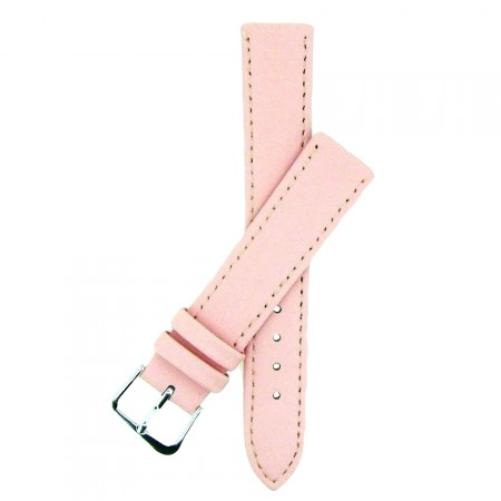 Pink TA Extra Long Leather Watch Strap 10mm to 22mm With FREE Fitting Pins