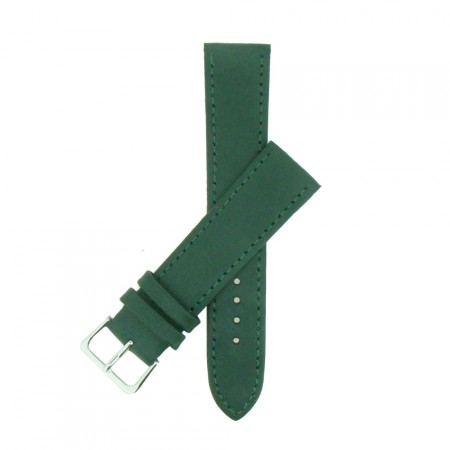 Green TA Extra Long Leather Watch Strap 12mm to 22mm With FREE Fitting Pins