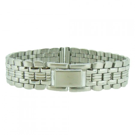 Genuine 2 Piece Stainless Ladies 14mm  Metal Bracelet Watch Strap