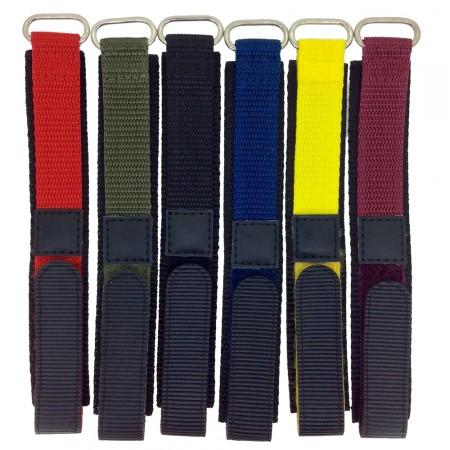 Childrens 18mm Colour Nylon Band Watch Strap