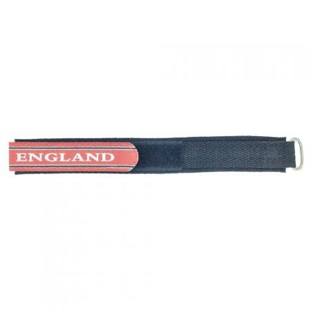 England 18mm 16mm Red TA Sports Nylon Band Watch Strap