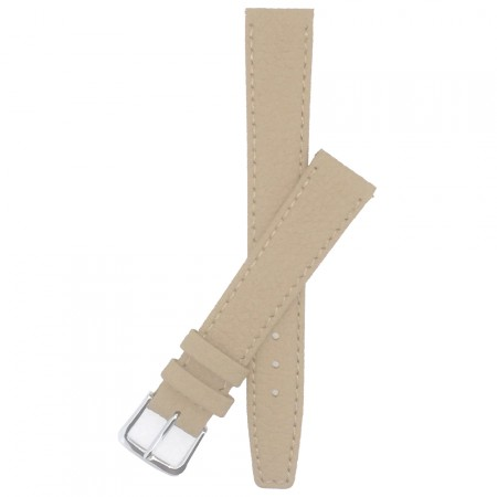 Natural Calf Grain Leather Watch Strap 10mm-20mm With FREE Fitting Pins