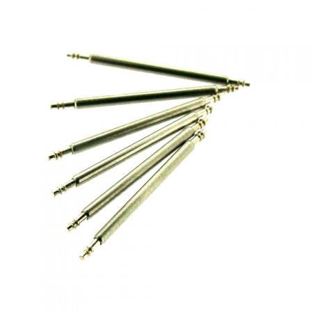 6mm - 40mm Spring Bar 1.5mm Stainless Steel  Watch Pins 6 Pack