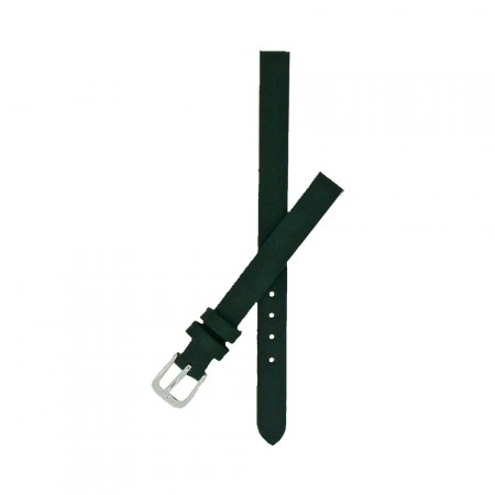 Dark Green Calf Grain Leather Watch Strap With FREE Fitting Pins 6mm and 8mm