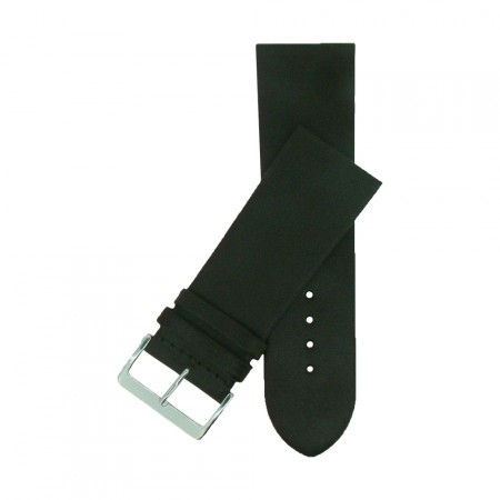Extra Wide Genuine Brown Leather Watch Strap 24mm - 34mm