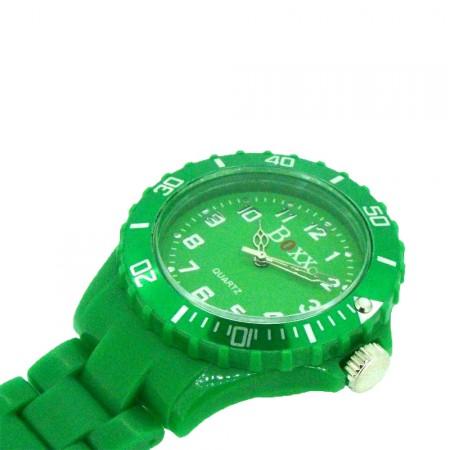 New BOXX Green Plastic Nurse Fob Watch