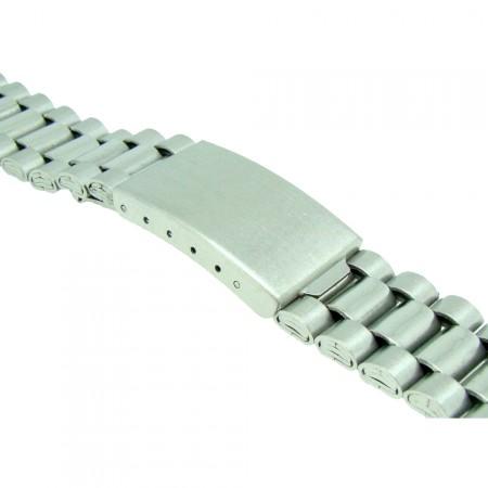 Stainless Steel 3 Link Metal Bracelet  Watch Strap 18mm-20mm