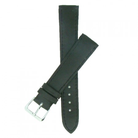 Brown TA Calf Grain Leather Watch Strap 10mm to 24mm With FREE Fitting Pins