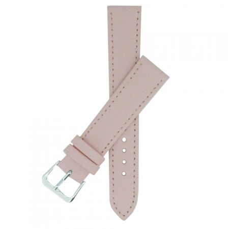 Baby Pink TA Calf Grain Leather Watch Strap 10mm to 24mm With FREE Fitting Pins