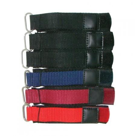 6 x Wholesale Job Lot Mens TA 18mm Nylon Band Colour Watch Strap