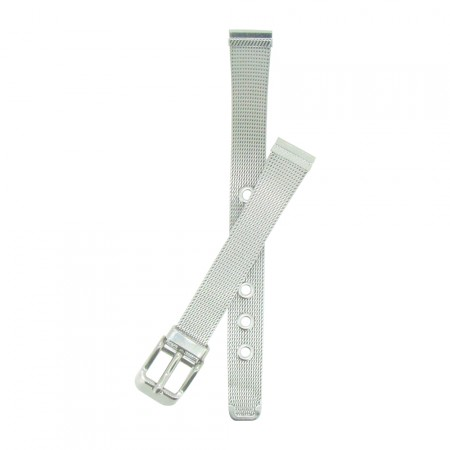 12mm Mesh Design Stainless Steel Metal Bracelet  Watch Strap