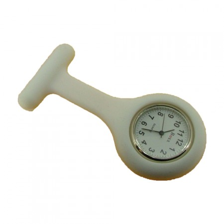 Brand New White Silicone Nurse Fob by BOXX