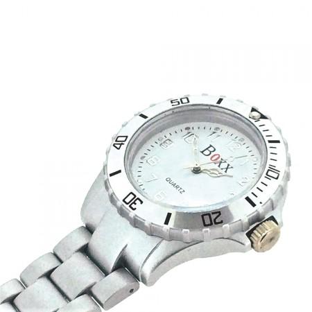 New BOXX Silver Plastic Nurse Fob Watch