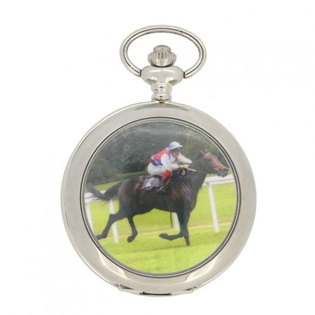 New Horse Racing Pocket Watch with Chain by WESTIME