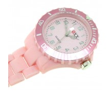 New BOXX Baby Pink Plastic Nurse Fob Watch