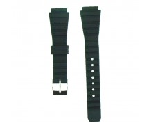 Lady 14mm Black Casio Type TA Sports Resin Watch Strap