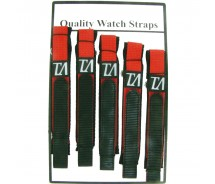 5 x Wholesale Job Lot Mens TA 18mm Red Nylon Watch Strap