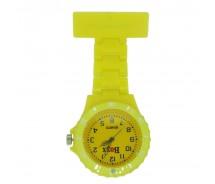 New BOXX Yellow Plastic Nurse Fob Watch