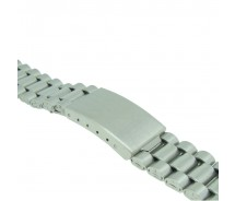 Stainless Steel 3 Link Metal Bracelet  Watch Strap 12mm-14mm