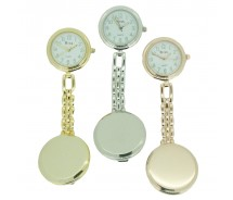 Brand New Clip On Nurse Fob Watch by BOXX With Free Battery