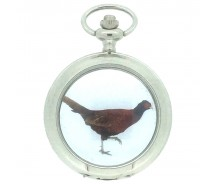 New Pheasant Pocket Watch with Chain by WESTIME