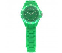 Green Plastic Lightweight Quartz Sports Watch by Monte Carlo