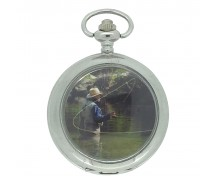 New Fishing Pocket Watch with Chain by WESTIME