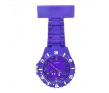 New BOXX Purple Plastic Nurse Fob Watch