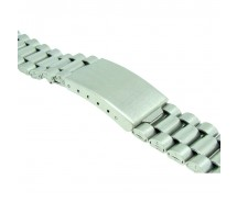 Stainless Steel 3 Link Metal Bracelet  Watch Strap 18mm-20mm