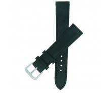 Black TA Calf Grain Leather Watch Strap 10mm to 24mm With FREE Fitting Pins