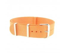 Orange Nylon 1pc Military Army Watch Strap 18mm 20mm 22mm