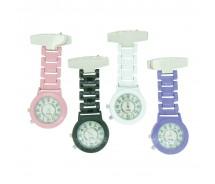 Brand New Nite Glo Metal Colour Nurse Fob Watch by BOXX