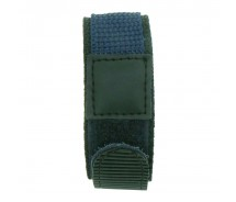 Gents Blue 18 / 20 / 22mm TA Nylon Band Watch Strap