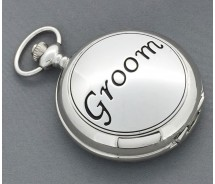 Groom Mechanical Wind Up Pocket Watch