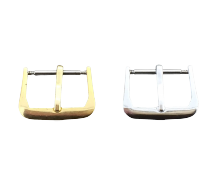 New Silver and Gilt Watch Strap Buckles 8mm to 22mm