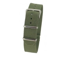 Green Nylon 1pc Military Army Watch Strap 18mm 20mm 22mm 24mm