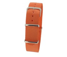 Orange Nylon 1pc Military Army Watch Strap 18mm 20mm 22mm