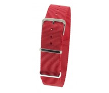 Red Nylon 1pc Military Army Watch Strap 18mm 20mm 22mm