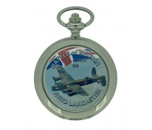 New Battle of Britain Avro Lancaster Pocket Watch And Chain by WESTIME