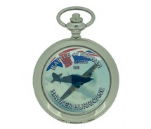 New Battle of Britain Hawker Hurricane Pocket Watch And Chain by WESTIME
